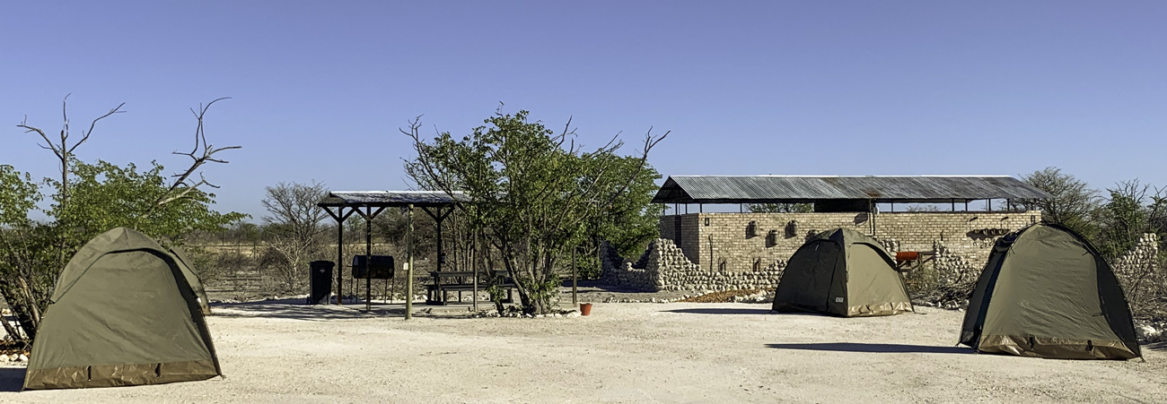 Group Campsites at Etosha Trading Post